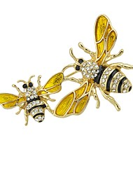 cheap -Brooches - Bee Basic, Fashion Brooch Gold For Daily / Date