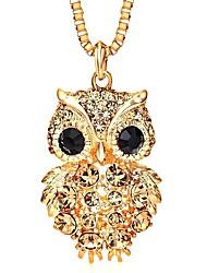 cheap -Women's Pendant Necklace - Owl Classic, Korean Gold 80 cm Necklace For Daily