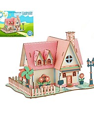 cheap -Wooden Puzzle Logic & Puzzle Toy Garden Theme Fashion Classic Fashion New Design Professional Level Focus Toy Stress and Anxiety Relief