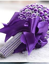 """baratos -Bouquets de Noiva Decorações Casamento Algodão / Poliéster 5.12""""(Aprox.13cm) 9.06""""(Aprox.23cm)"""