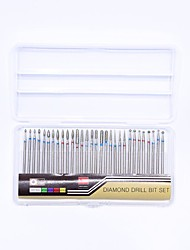cheap -30pcs Professional / High Quality Nail Grinding Head / Nail Art Tips / Nail Art Files & Buffers Nail Files & Buffers / Nail Art Kit /