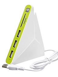 cheap -3 USB Hub USB 2.0 USB 2.0 With Card Reader(s) Data Hub
