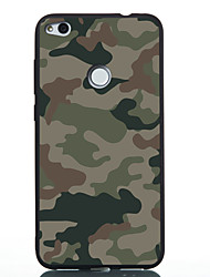 cheap -Case For Huawei P20 lite P20 Pattern Back Cover Camouflage Color Soft TPU for Huawei P20 lite Huawei P20 P10 Lite P10 Huawei P9 Lite P8