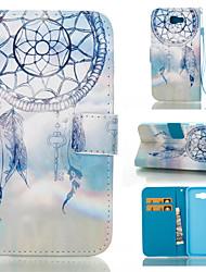 preiswerte -Hülle Für Samsung Galaxy Samsung Galaxy Hülle Kreditkartenfächer Geldbeutel mit Halterung Flipbare Hülle Geprägt Ganzkörper-Gehäuse