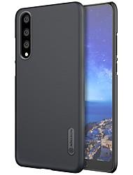Недорогие -Nillkin Кейс для Назначение Huawei P20 / P20 lite Матовое Кейс на заднюю панель Однотонный Твердый ПК для Huawei P20 / Huawei P20 Pro / Huawei P20 lite