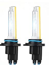 abordables -2pcs 9005 Automatique Ampoules électriques 110W 11000lm Xénon HID Lampe Frontale For Universel Tous les modèles Toutes les Années