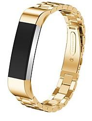 Недорогие -Ремешок для часов для Fitbit Alta Fitbit Современная застежка Металл Повязка на запястье