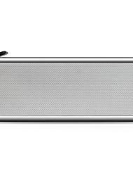 preiswerte -A11 Bluetooth Lautsprecher Bluetooth 4.2 3.5 mm AUX Lautsprecher für Regale Silber