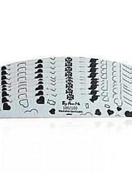 abordables -10pcs Manucure Branché nouveau Nail Art Forms Nail Art Design Outil d'art des ongles BMX