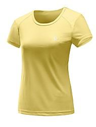 preiswerte -Damen T-Shirt für Wanderer Außen Schnelles Trocknung Rasche Trocknung Schweißableitend Atmungsaktivität T-shirt N/A Camping & Wandern