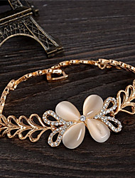 cheap -Women's Bracelet - Sweet Four Leaf Clover Gold Bracelet For Party Gift