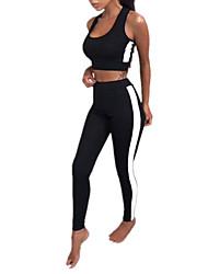 abordables -Mujer Tank Tops - A Rayas Pantalón