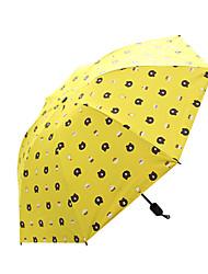 お買い得  -1pcs pc ファブリック 女性用 サニーと雨 防風 新しい 折りたたみ傘