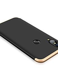 Недорогие -Кейс для Назначение Huawei P20 lite Защита от удара Чехол Однотонный Твердый ПК для Huawei P20 lite