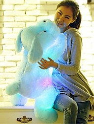 cheap -Dog / Animal Stuffed Animal Plush Toy Comfy / Lovely LED Unisex Gift 1pcs