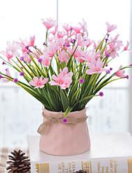 abordables -Fleurs artificielles 1pcs Une succursale style pastoral Orchidées Fleur de Table