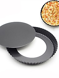 cheap -Bakeware tools Stainless steel DIY Creative Kitchen Gadget Cake For Pizza For Bread Baking Dishes & Pans Cake Pan