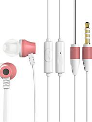 Недорогие -ojade t008 в наушниках для ушей 3,5 мм стереофонические басовые наушники с микрофоном для аудио и видео для смартфона