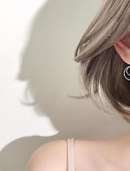 cheap -Drop Earrings - Twist Circle Simple, Korean, Fashion Silver For Gift / Daily