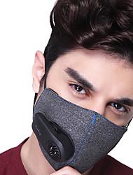 baratos -Xiaomi Máscara Facial Todas as Estações Leve / Recarregável / Respirável Casual / Exercicio Exterior / Ciclismo / Moto Unisexo Algodão / Poliéster Sólido