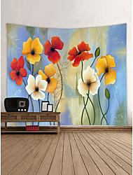 baratos -Tema Jardim Paisagem Decoração de Parede 100% Poliéster Moderna Modern Arte de Parede, Tapetes de parede Decoração