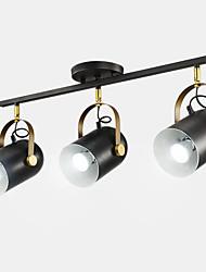 abordables -QIHengZhaoMing 3 lumières Projecteur Lumière d'ambiance 110-120V / 220-240V, Blanc Crème / Blanc Neige, Ampoule incluse / 15-20㎡