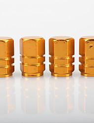 baratos -4pçs Carro Tampa da válvula Negócio Tipo de fivela For Roda de carro For Universal Todos os Anos