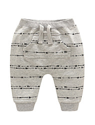 cheap -Baby Unisex Active Print Pants / Toddler