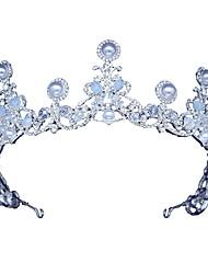 cheap -Alloy Tiaras / Headdress with Acrylic / Rhinestone / Faux Pearl 1 Piece Wedding / Birthday Headpiece