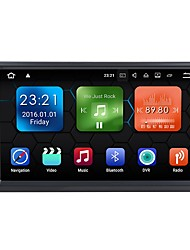 abordables -7inch 2 Din 1024 x 600 Android 7.1 Coches reproductor de DVD para Universal Bluetooth Integrado / GPS / RDS  -  AVI / MPEG4 / MP3
