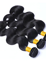 abordables -Cheveux Malaisiens Ondulé Tissages de cheveux humains / One Pack Solution / Extensions Naturelles 3 offres groupées 8-28 pouce Tissages de cheveux humains Faciliter l'habillage / Meilleure qualit