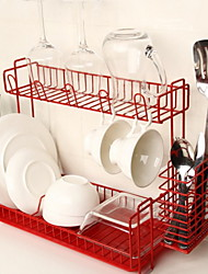 Недорогие -Кухонная организация Полки и держатели Металл Прост в применении 1шт