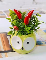 abordables -Flores Artificiales 1 Rama Rústico Plantas Flor de Mesa