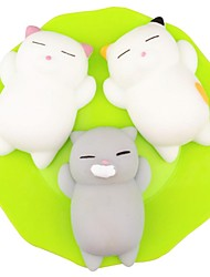 cheap -LT.Squishies Squeeze Toy / Sensory Toy / Stress Reliever Cat Office Desk Toys / Decompression Toys Others 3pcs Children's All Gift