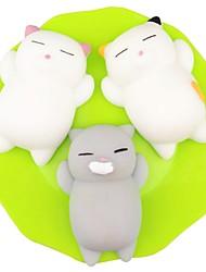 abordables -LT.Squishies Jouets Bruyants / Anti-Stress Chat Jouets de bureau / Jouets de décompression Autres 3pcs Enfant Tous Cadeau