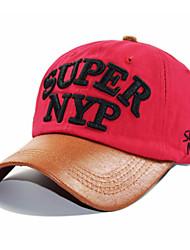 Недорогие -Муж. Активный Шляпа от солнца Бейсболка Полиэстер, Контрастных цветов