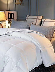 cheap -Comfortable - 1pc Coverlet Winter Terylene Solid Colored