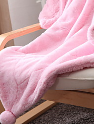 cheap -Coral fleece, Yarn Dyed Plaid Acrylic Fibers Polyester / Polyamide Blankets