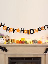 Недорогие -Halloween Нетканое полотно / Нетканые Свадебные украшения Домики Зима