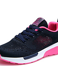 cheap -Women's Shoes Tulle Spring & Summer Comfort Athletic Shoes Flat Heel Light Grey / Red / Pink