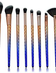 abordables -8pcs Pinceaux à maquillage Professionnel ensembles de brosses Fibre Nylon Economique / Dégradé de Couleur Plastique