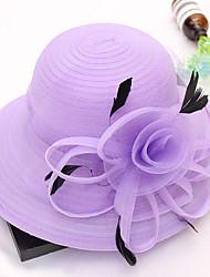 Недорогие -Жен. Очаровательный Шляпа от солнца - Кружева С принтом