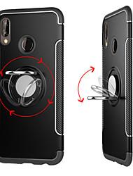 abordables -Funda Para Huawei P20 Pro / P20 lite Soporte para Anillo / Armadura Funda Trasera Un Color Dura ordenador personal para Huawei P20 /