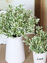 abordables -Fleurs artificielles 1 Une succursale Style Simple Plantes Arbre de Noël