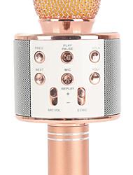 Недорогие -WS858 Беспроводное / Bluetooth Микрофон Other Динамический микрофон Ручной микрофон / Мода Назначение Бар / Микрофон для караоке