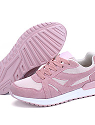 cheap -Women's Running Shoes / Sneakers PU (Polyurethane) Exercise & Fitness / Running Lightweight, Anti-Slip, Breathable Net / PU(Polyurethane) Black / Pink / Grey