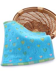 Недорогие -Свежий стиль Банное полотенце Полотенце для рук, Рисунок Высшее качество Полиэстер / Хлопок Полотняное плетение 1pcs
