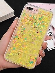 Недорогие -Кейс для Назначение Apple iPhone X iPhone 8 Защита от удара Сияние и блеск Кейс на заднюю панель Сияние и блеск Твердый ПК для iPhone X
