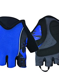 baratos -Luvas Esportivas Luvas de Ciclismo Treinador Ioga Fitness Sem Dedo Lycra Spandex Ciclismo / Moto Todos