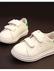 Недорогие -Девочки Обувь Полиуретан Осень Удобная обувь Кеды для Золотой / Черный / Зеленый